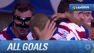 Todos los goles de Atlético de Madrid (4-0) Sevilla FC - HD