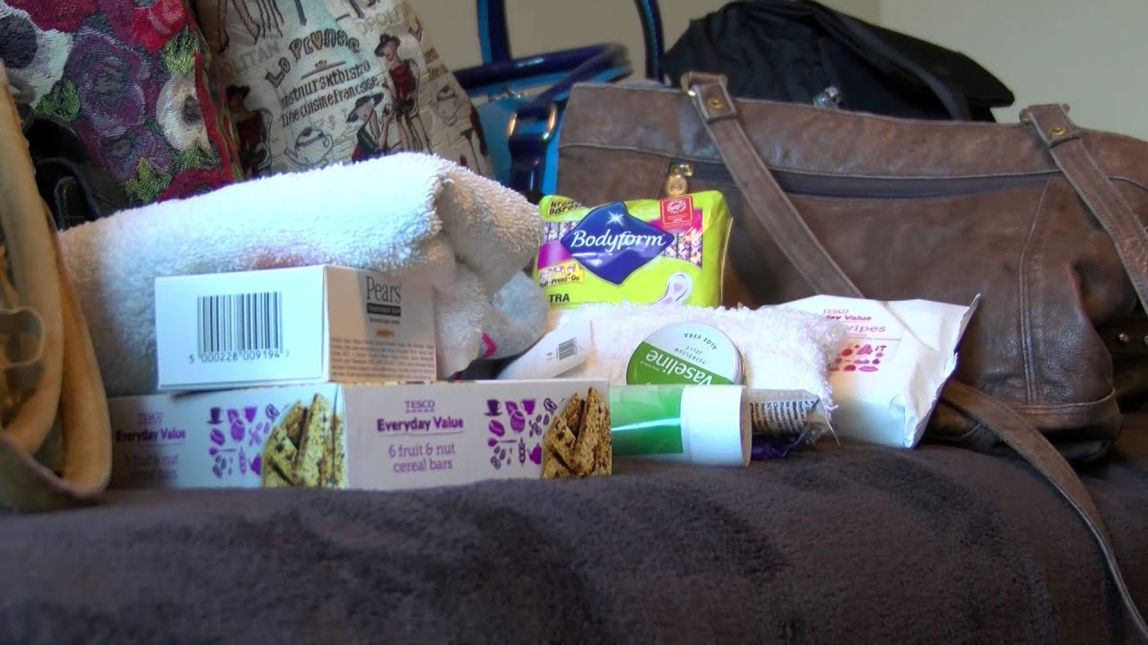 Helping Handbags Worldwide Charity Donates Sanitary Products In To Homeless Women You