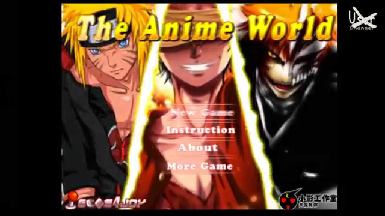 Anime Flash Game