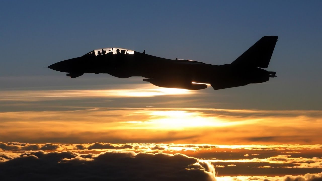 14 afterburner sunset - photo #25
