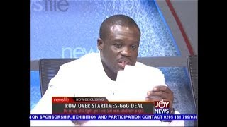 GIBA fights gov't over StarTimes satellite TV project - Newsfile on JoyNews (22-9-18)
