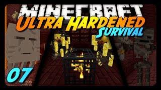 Minecraft: Ultra Hardened Survival LP - 07 - INTO HELL!