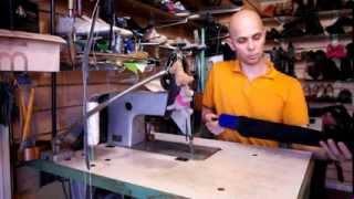 Как восстановить форму обуви. Ремонт обуви. Уход за обувью.(В этом видео расскажу о том как восстановить форму обуви. На самом деле все очень просто. Используя правилки..., 2013-10-24T04:38:55.000Z)