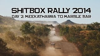 Shitbox Rally 2014 - Day 2 - Meekatharra to Marble Bar