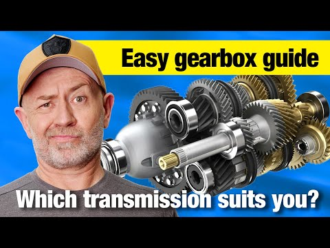 Transmission Comparison Manual Auto Dual Clutch CVT Auto Expert John Cadogan Australia