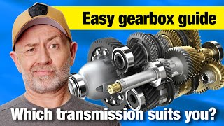 Ultimate Transmission Comparison: Manual Vs Auto Vs Dual Clutch Vs CVT | Auto Expert John Cadogan