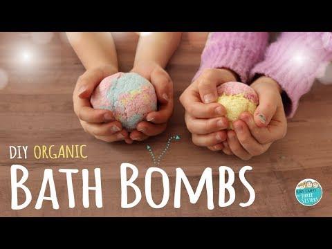How to Make DIY Bath Bombs | Easy Recipe! Kids Safe & Organic - YouTube