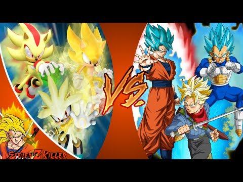 HEDGEHOGS vs SAIYANS! (Sonic, Shadow, Silver VS Goku, Vegeta, Trunks) CFC EP 195 REACTION!!!