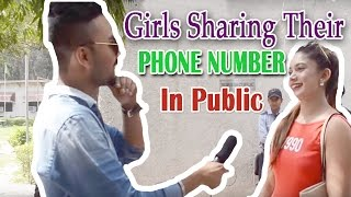 GIRLS Sharing Their PHONE NUMBER  in Public || Ghanta Hai Prank || #Ghanta Hai(It is every Man's dream to get the phone number of the girl who he likes but unfortunately only few get success in that . So this time Ghanta hai is back with its ..., 2016-04-24T13:24:45.000Z)