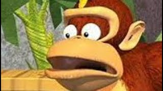 DK Dice la Palabra N ||| Donkey Kong Country de dibujos animados