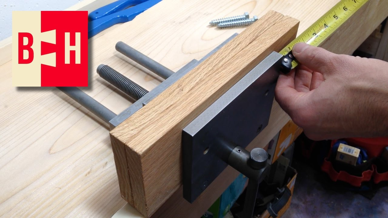Making And Installing Wood Vice Jaws