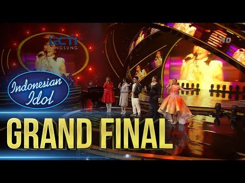 ALUMNI IDOL ft. YOVIE WIDIANTO - KEMENANGAN HATI - Grand Final - Indonesian Idol 2018