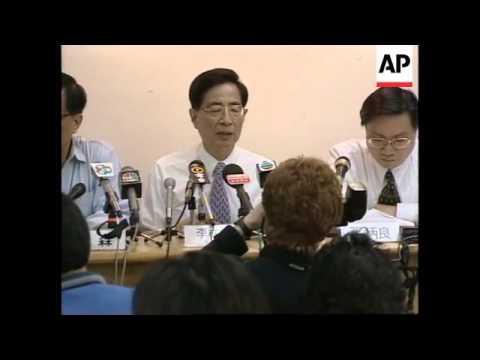 HONG KONG: DEMOCRATS LAUNCH LEGISLATURE ELECTION CAMPAIGN
