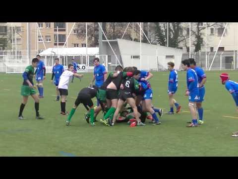 Rugby Cadets US Mourillon vs US La Seyne Match Championnat Stade Jean Alex Fernandez Toulon 2017