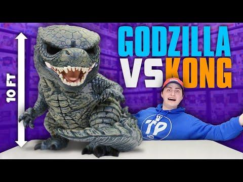 Unboxing The Worlds Largest Godzilla Funko Pop!
