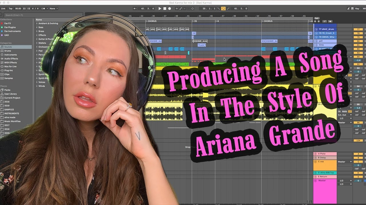 How To Produce A Song Like Ariana Grande