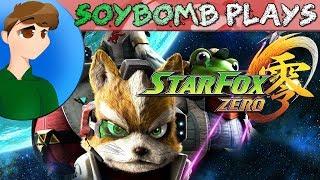 Star Fox Zero (Wii U) - DO A BARREL ROLL WHY DONTCHA   SoyBomb LIVE!