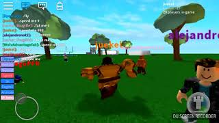 Roblox PART 3 talking about nba while playing roblox
