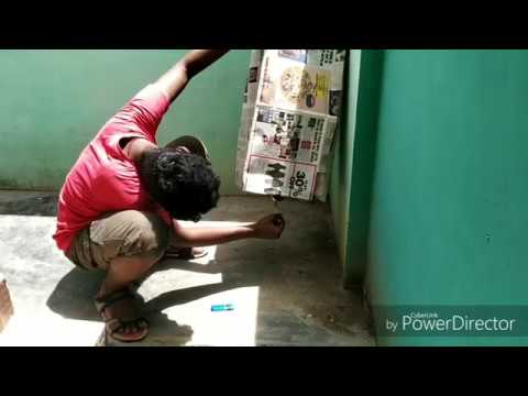 How to do sky lantern with news paper easy in tamil