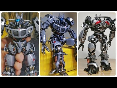 3D Printed Transformers Jazz by 4ever Toys