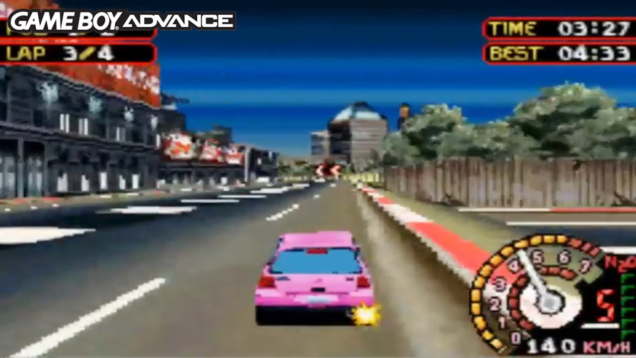 Need for Speed Underground 2 (Gameboy Advance Gameplay)