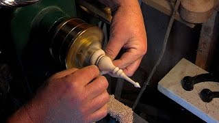 #54 Woodturning A Segmented Christmas Ornament Part 2 Of 2