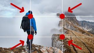 5 reglas de COMPOSICIÓN FOTOGRÁFICA (APRENDE con ejemplos)