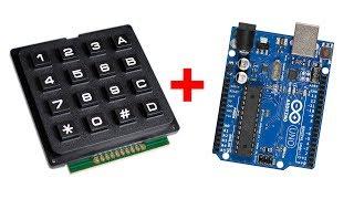 Подключаем матричную клавиатуру к Ардуино