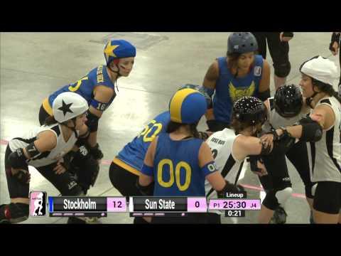 Dallas Game 14: Stockholm Roller Derby v Sun State Roller Girls