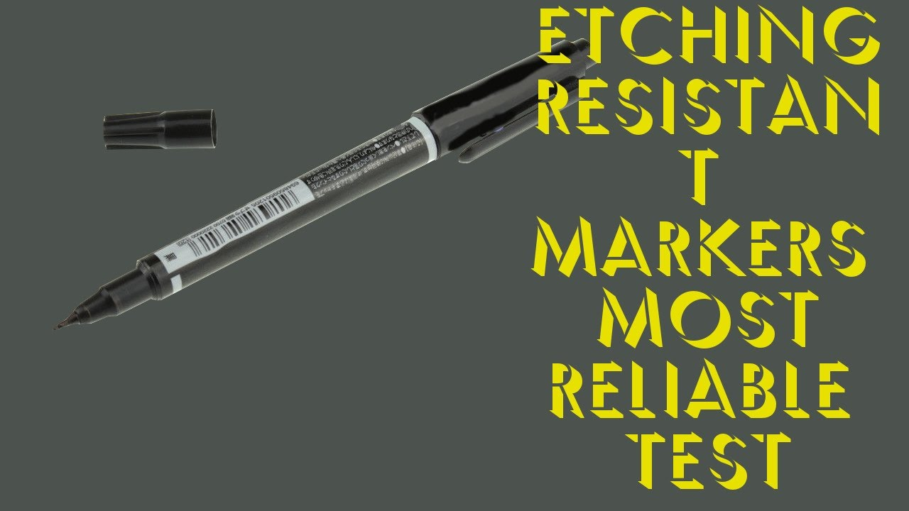 Etching Resistant Pcb Marker Most Reliable Test Review Youtube A Circuit Board