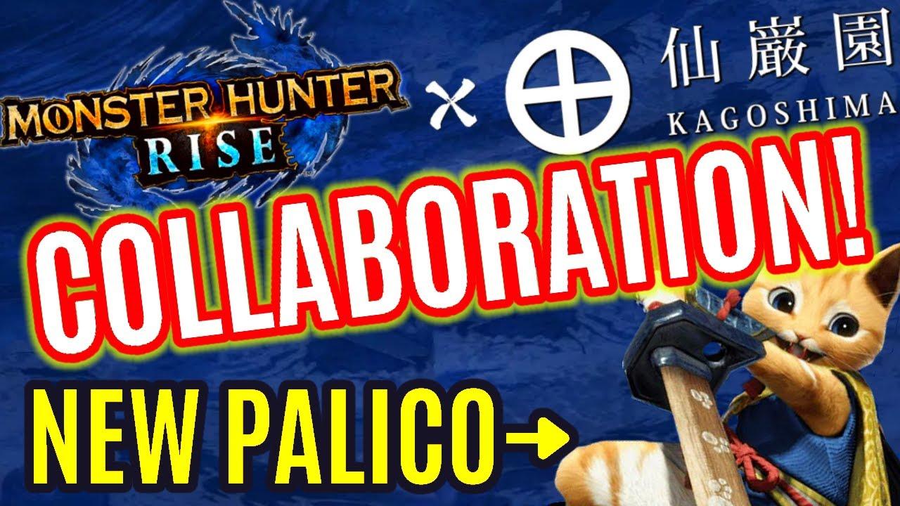 Monster Hunter Rise x KAGOSHIMA COLLABORATION GAMEPLAY TRAILER モンハンライズ×仙巌園 「新コラボ情報キター!!」 で特別オトモ「ヤス」
