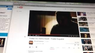 En Tierra Hostil: Tráiler En Español HD 1080P