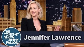 Jennifer Lawrence Shares Her Most Embarrassing Moments YouTube Videos