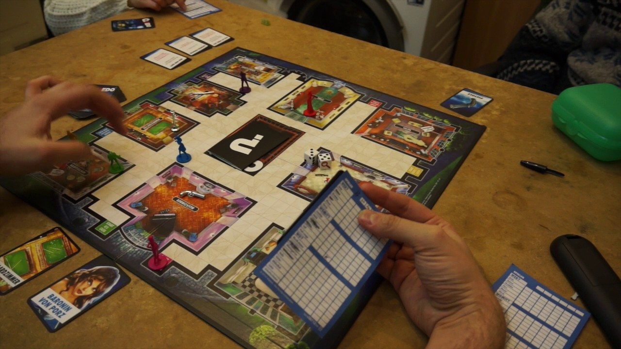 Lets Play Cluedo
