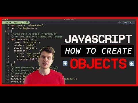 JavaScript Tutorial: How to Create an Objects in JavaScript thumbnail