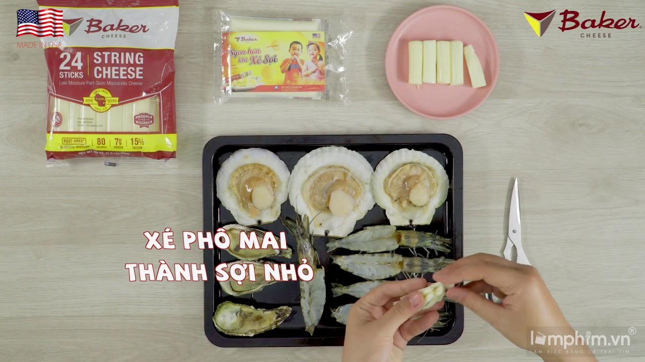 Hải sản nướng phô mai - Phô Mai Trung Thành