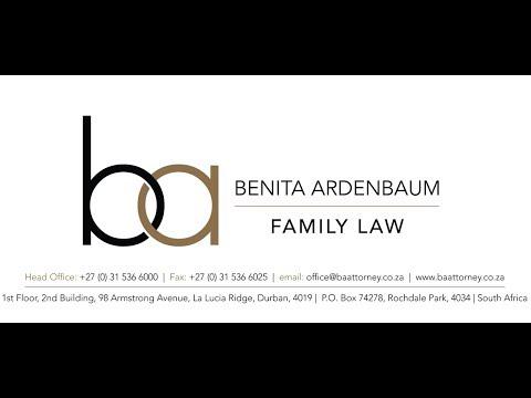 BENITA ARDENBAUM - FAMILY LAW & DIVORCE - DURBAN - 0315366000