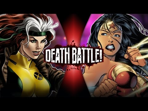 Rogue VS Wonder Woman (Marvel VS DC) | DEATH BATTLE!