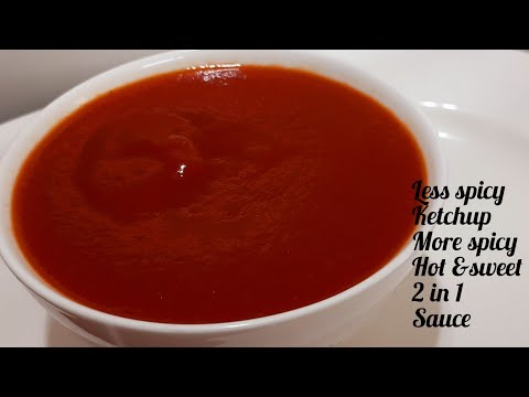 Homemade Maggie Hot & Sweet Tomato Chilli Sauce   Tomato Ketchup 100 % Perfect
