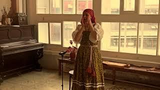 �������� ���� Ирина Богатырёва русский традиционный наигрыш на варгане ������