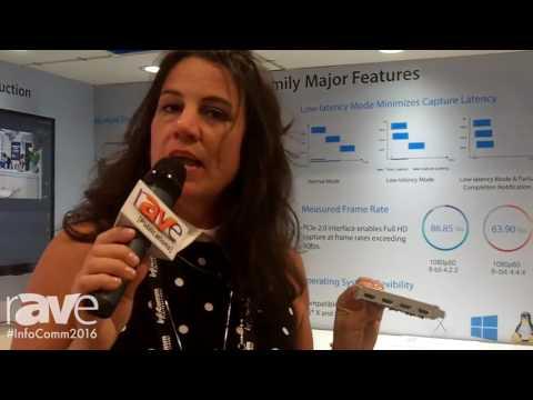 InfoComm 2016: Magewell Showcases Pro Capture Quad HDMI