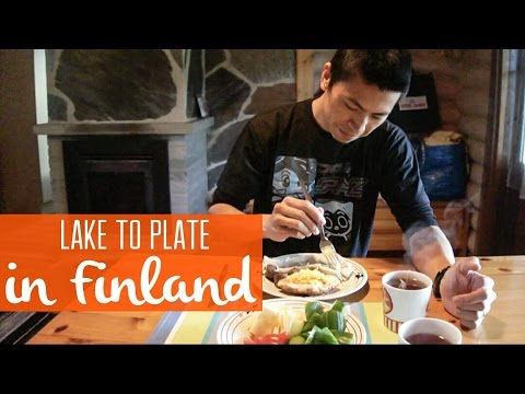 From Lake to Plate: We cook our catch in Finland!
