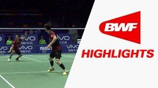 vivo bwf sudirman cup 2015   badminton sf korea vs japan highlights