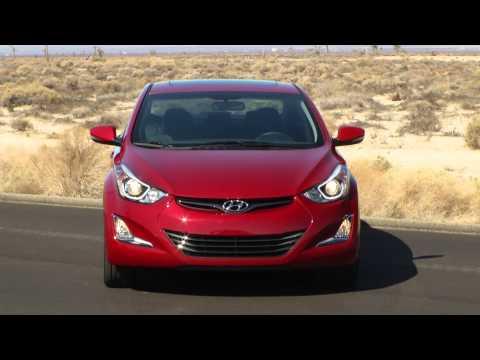 2014 Hyundai Elantra Sport driving footage