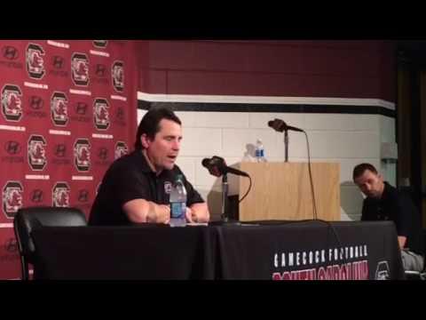 South Carolina HC Will Muschamp week 3 post game presser