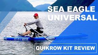 Sea Eagle Universal Rowing Kit Review  ISUPWORLD.com