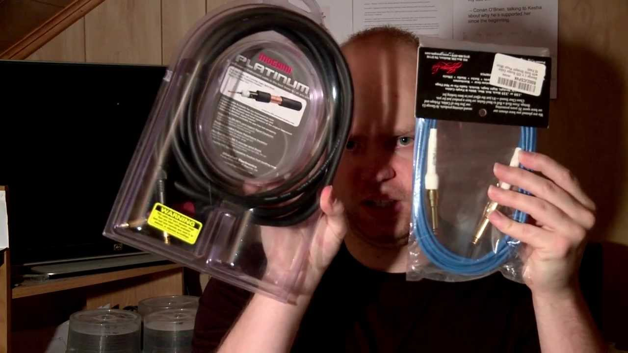 The Best Guitar or Instrument Cable ? - YouTube