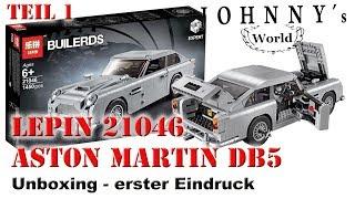 Lepin 21046 Aston Martin DB5 - Unboxing und erster Eindruck Review in Deutsch