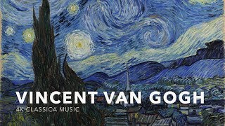 1080p60fps Art Classical Music_V1_UHD Vincent Van Gogh Paintings 16:9 Size Classcal Piano Music