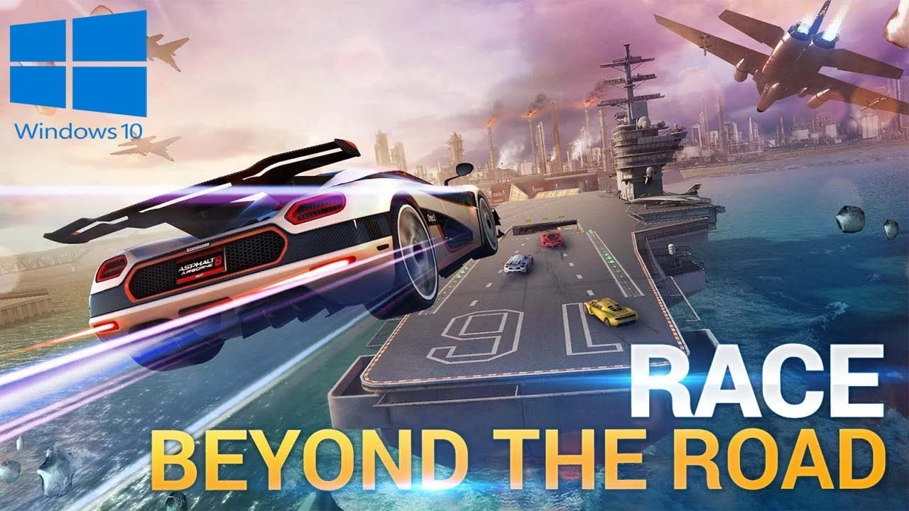 Asphalt 8: Airborne For PC/Laptop Windows 10 Free Download Install and Play  2018